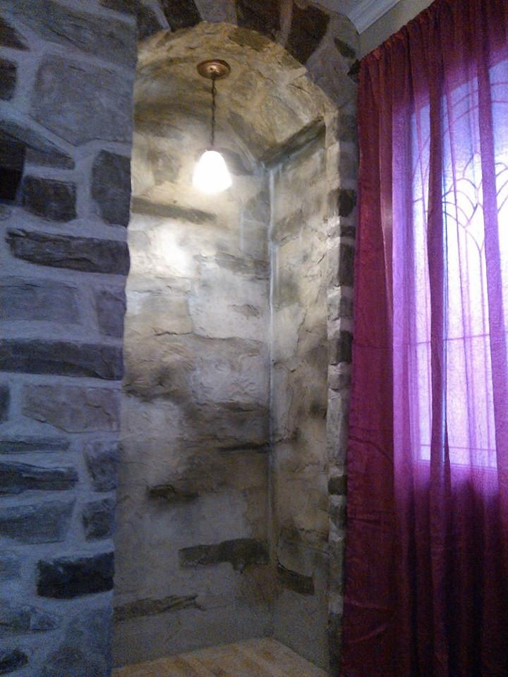 mur de pierre décorative intérieur - Fini murale par Yan pigeon