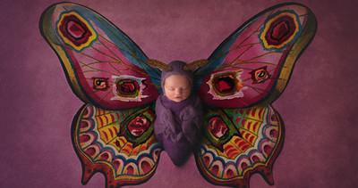 Photographe bébé | Photos de nouveau-nés magique à l'aide de Photoshop