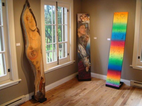 Peinture en acrylique sur toile - Exposition de Yan Pigeon artiste et peintre québécois 8