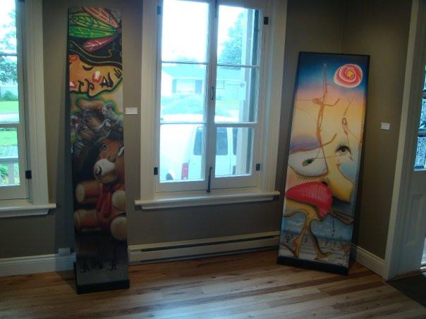 Peinture en acrylique sur toile - Exposition de Yan Pigeon artiste et peintre québécois 4