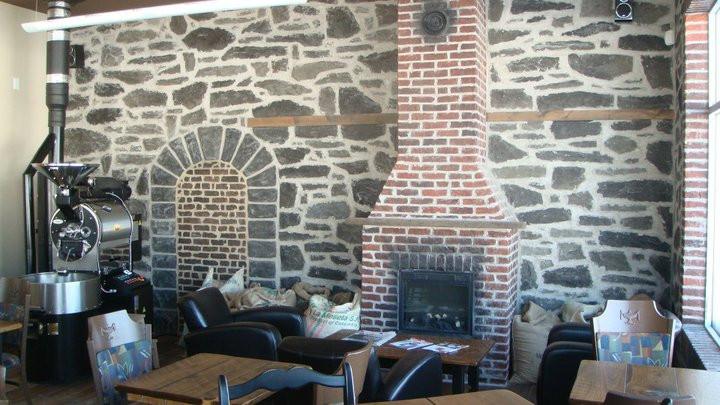 Mur de pierre decorative - Fini mureaux - Yan pigeon