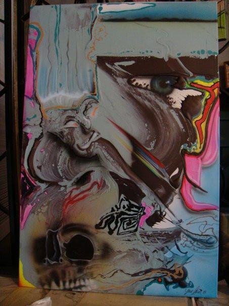 peinture abstraite pour artiste peintre | Yan Pigeon peintre et artiste Québec