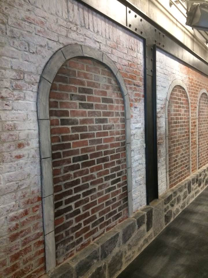 Fini mureaux en pierre et briques | Yan Pigeon | Artiste peintre Québec 2