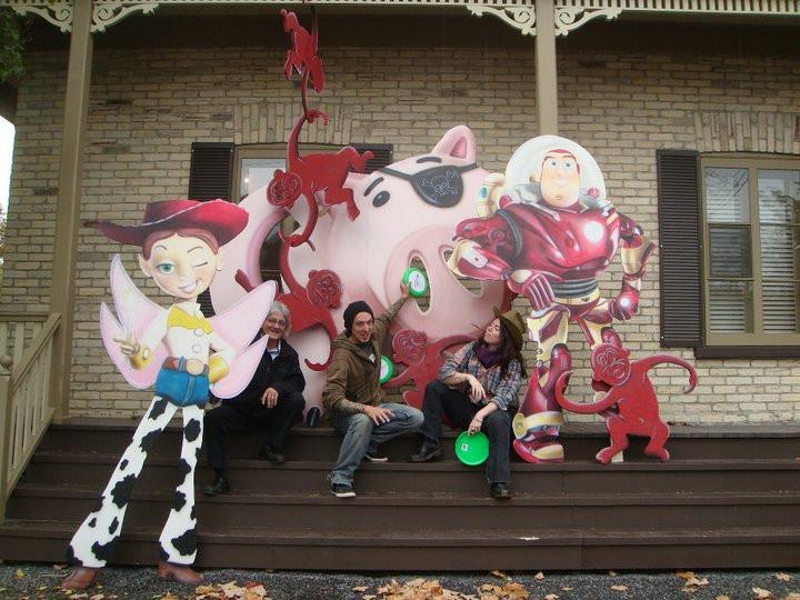 Toy Story à Québec | Artiste peinture et airbrush à Québec | Yan Pigeon 9