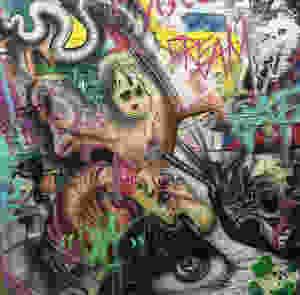Peinture abstraite sur toile - Yan Pigeon