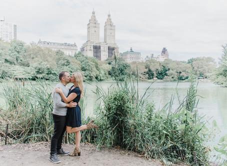 Central Park Engagement | Taylor & Mike