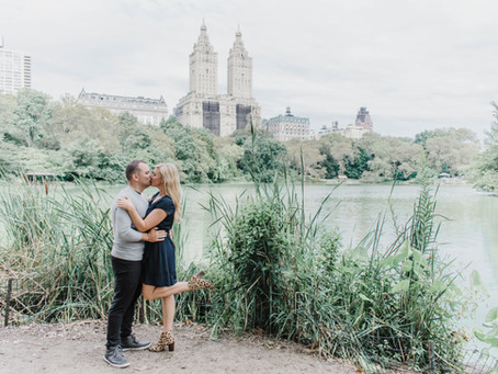 Central Park Engagement | Taylor & Mike