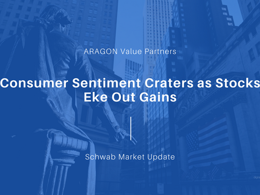 Consumer Sentiment Craters as Stocks Eke Out Gains