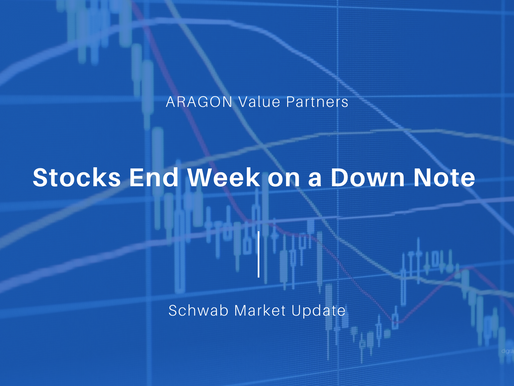 Stocks End Week on a Down Note