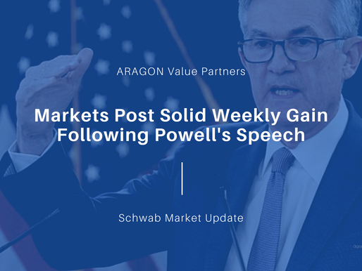 Markets Post Solid Weekly Gain Following Powell's Speech