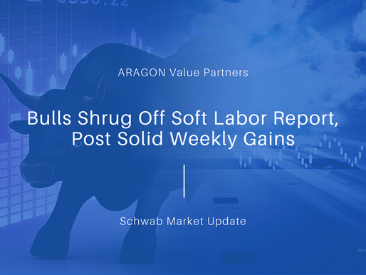 Bulls Shrug Off Soft Labor Report, Post Solid Weekly Gains