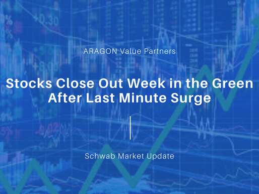 Stocks Close Out Week in the Green After Last Minute Surge