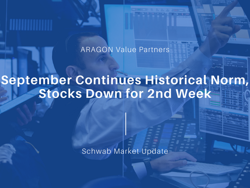 September Continues Historical Norm, Stocks Down for 2nd Week
