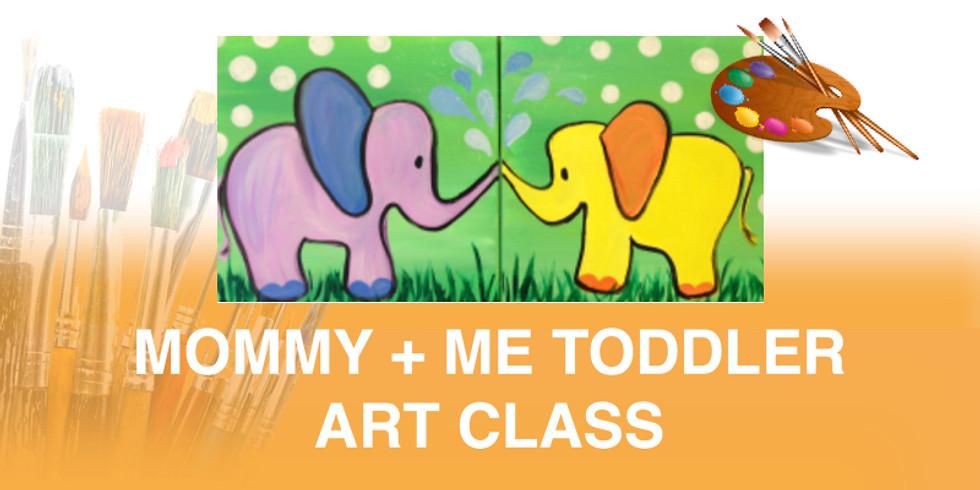 Mommy + Me Toddler Art Class
