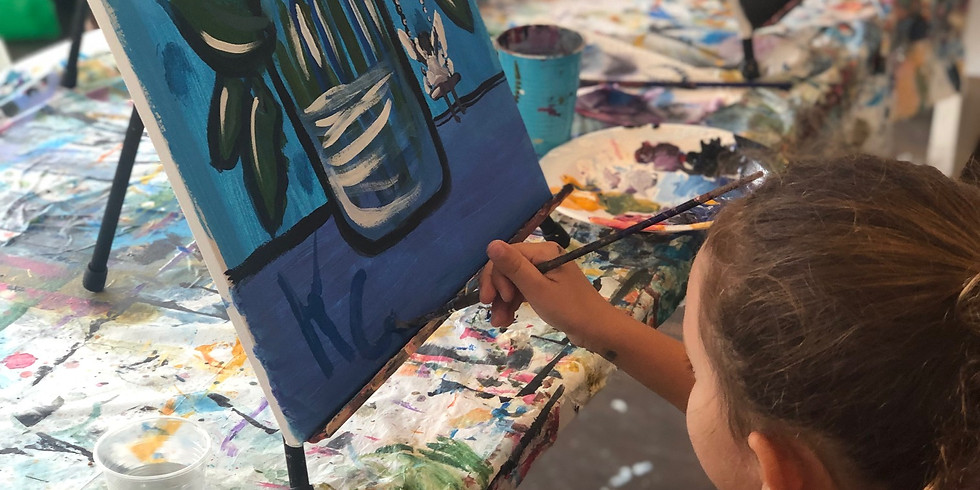 (ENROLLMENT CLOSED)VIRTUAL SPRING ART PROGRAM