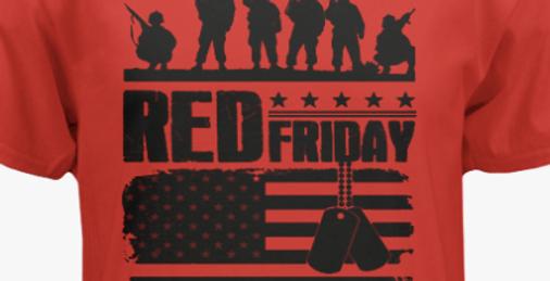 R.E.D. Shirt Friday