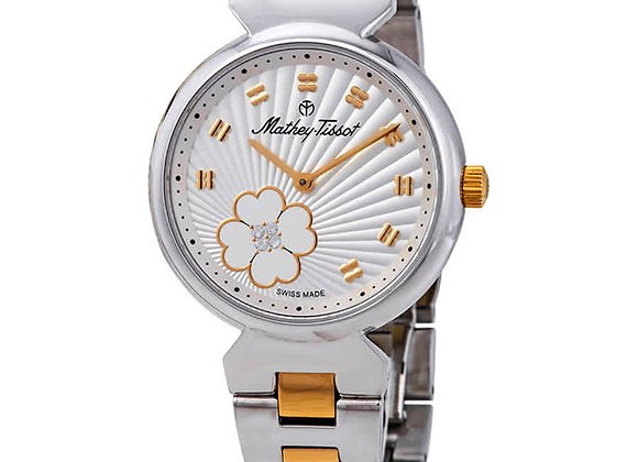 MATHEY TISSOT FIORE SILVER DIAL LADIES D1089BYI
