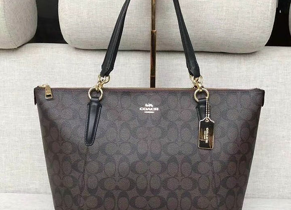 MCOACH AVA TOP ZIP TOTE