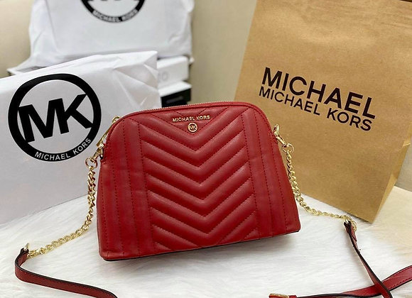 MKORS DOMO QUILTED CROSSBODY