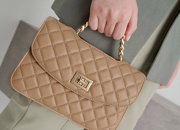 CHARLES & KEITH QUILTED TURN-LOCK