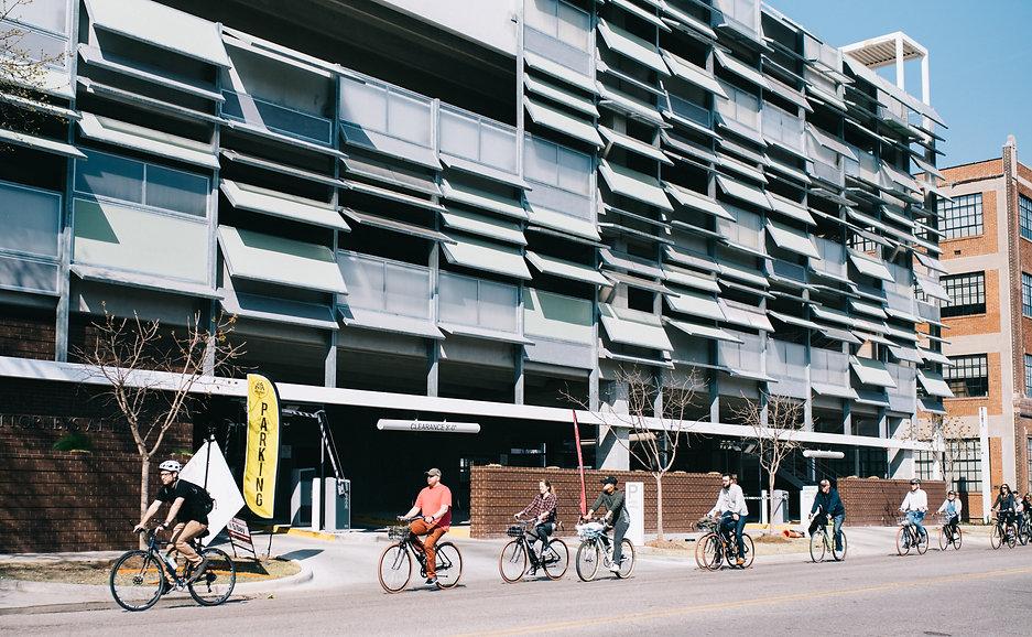 Ride OKC Bike Tours and Rentals Wheeler District Mural Art Graffiti Design