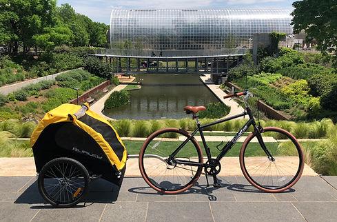 Ride OKC Bike Tours and Rentals, Kids Trailer
