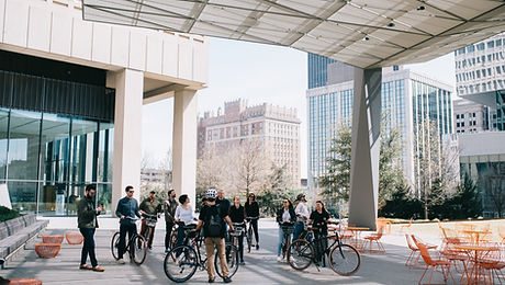 Ride OKC Bike Tours and Rentals Attraction Oklahoma City bicycle