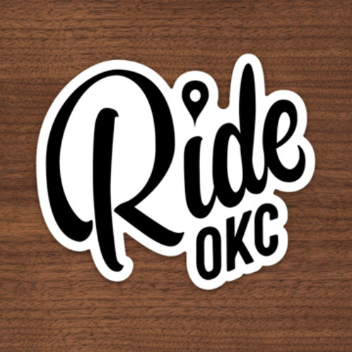 Ride OKC Sticker