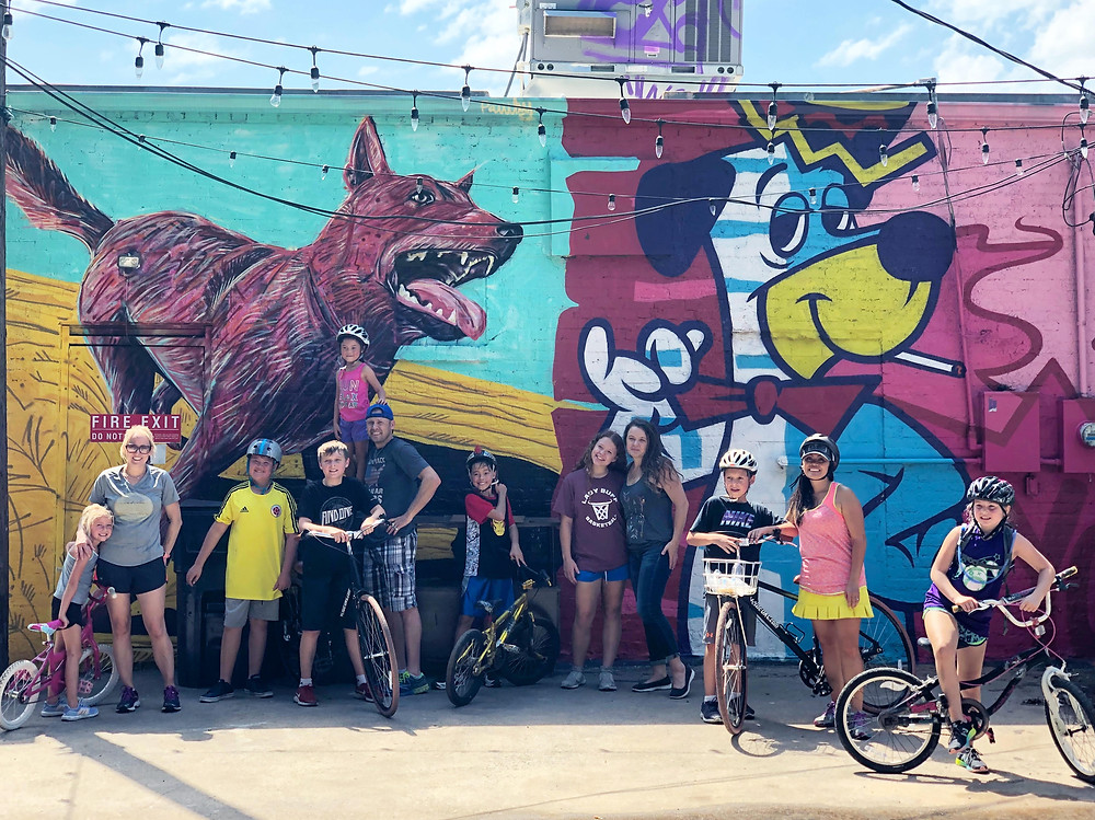 Cookie Tour Plaza District Walls Graffiti Art Mural