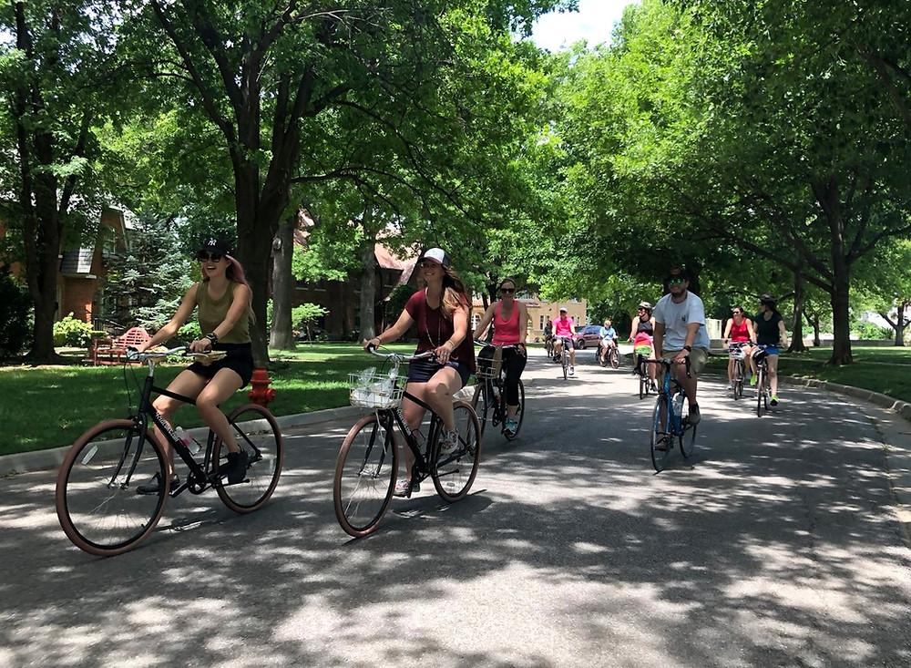 Bike Ride Heritage Hills Oklahoma City downtown