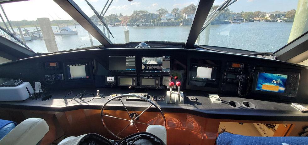marine dash panel
