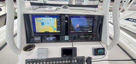 Marine dash panels