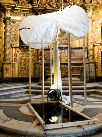 Le miroir impossible - DNA - Chapelle du musée dauphinois - Grenoble