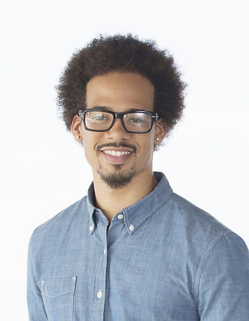 Young Man with Glasses