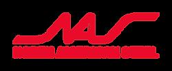 NAS Full Logo - Red - Large - 960 x 400