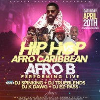 AFRO B LIVE IN NYC
