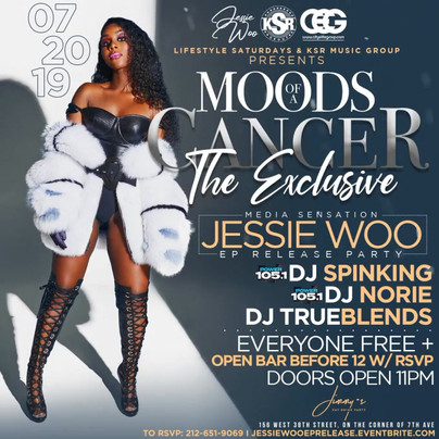 JESSIE WOO EP RELEASE PARTY