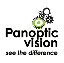 Panoptic Vision logo Accredited Behaviou