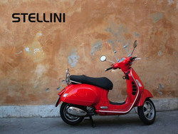 Stellini red scooter
