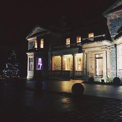 Cultra Manor Christmas Gig #jazz #buble