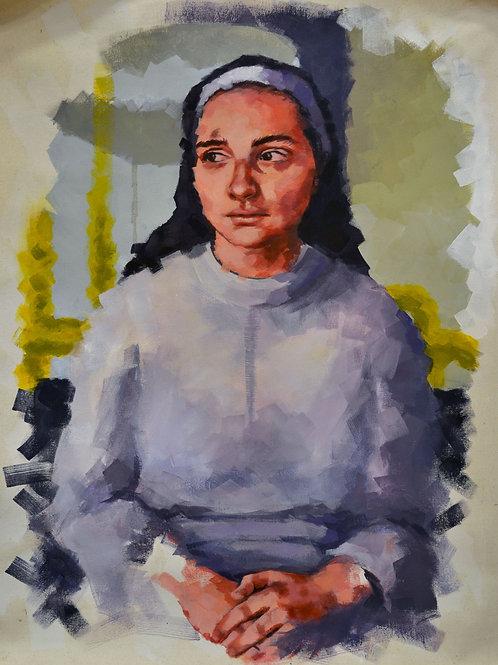 Nun in Rome