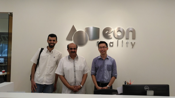 Discovering VR potential @ EON Reality - Singapore