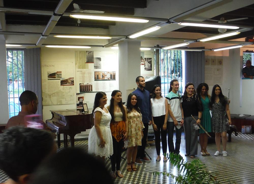Participantes Clase Magistral y Recital Ana María Hernández Candelas