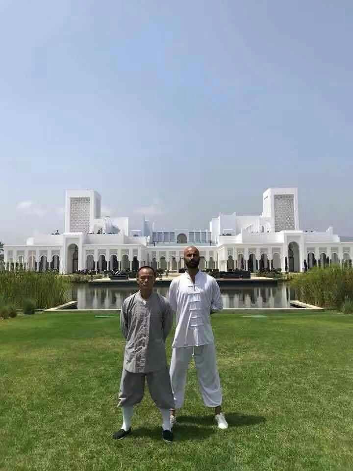 Sifu & Imad - Tai Chi City Morocco