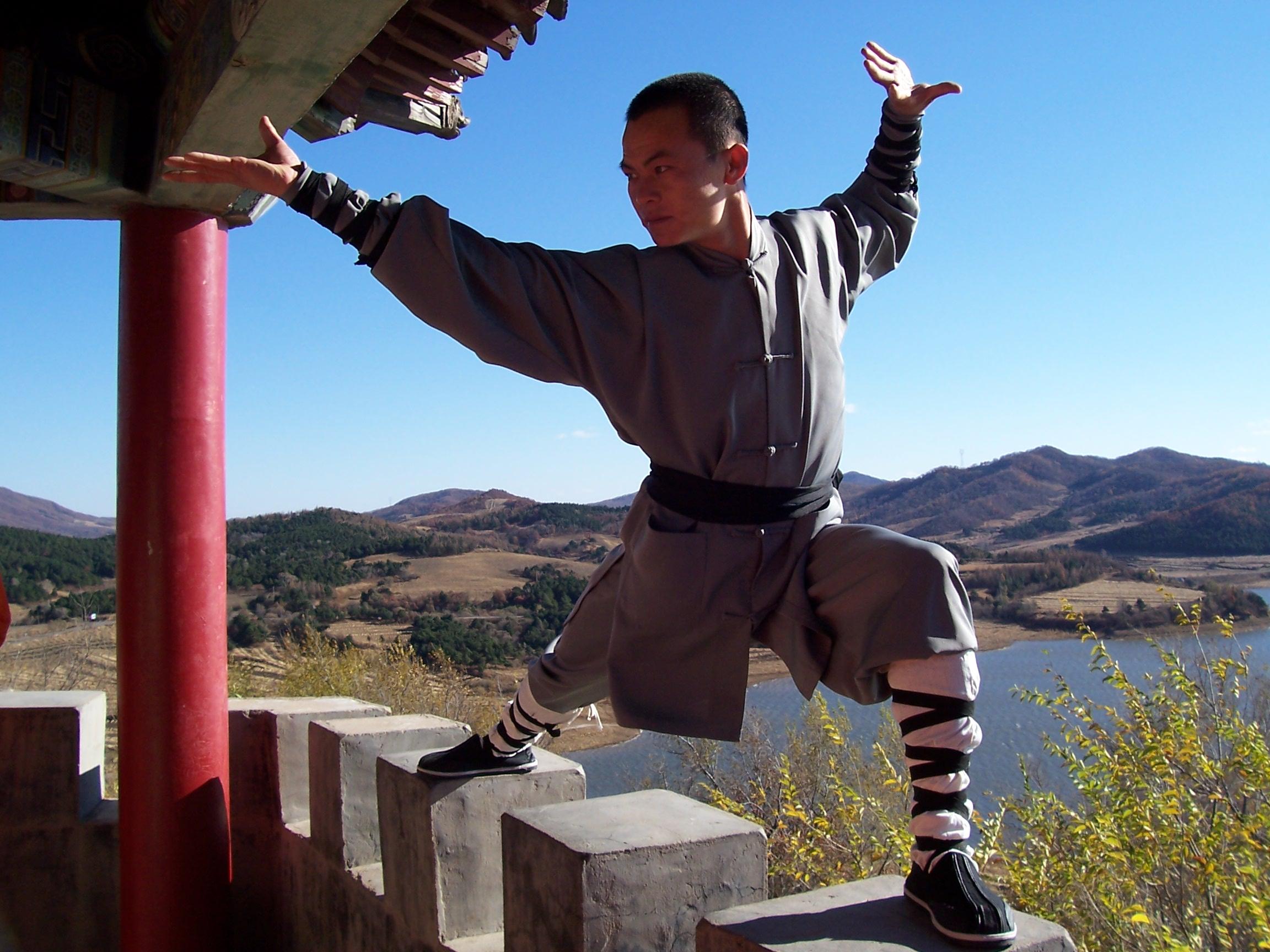 Sifu Shaolin Pose