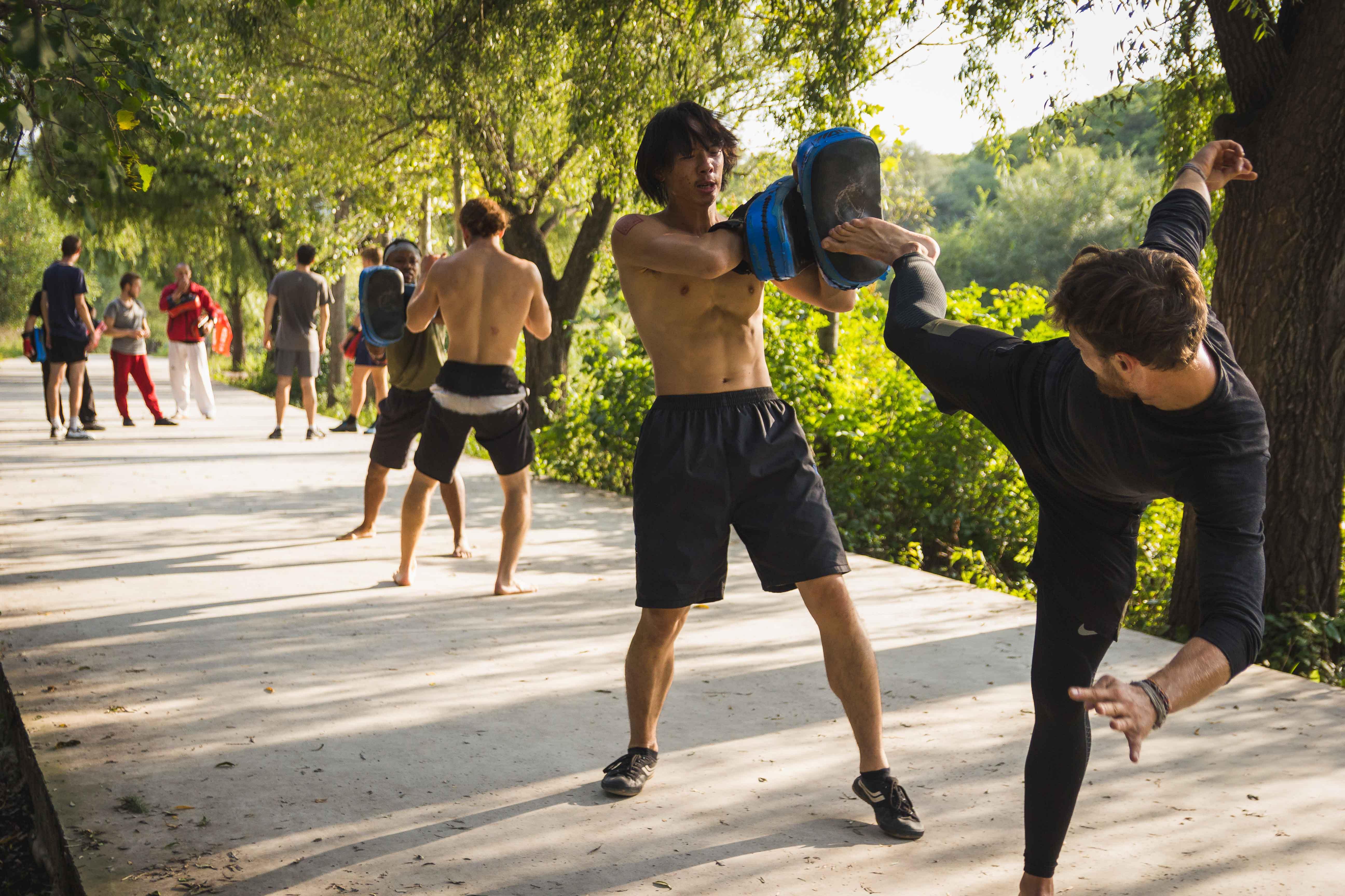 Sanda training