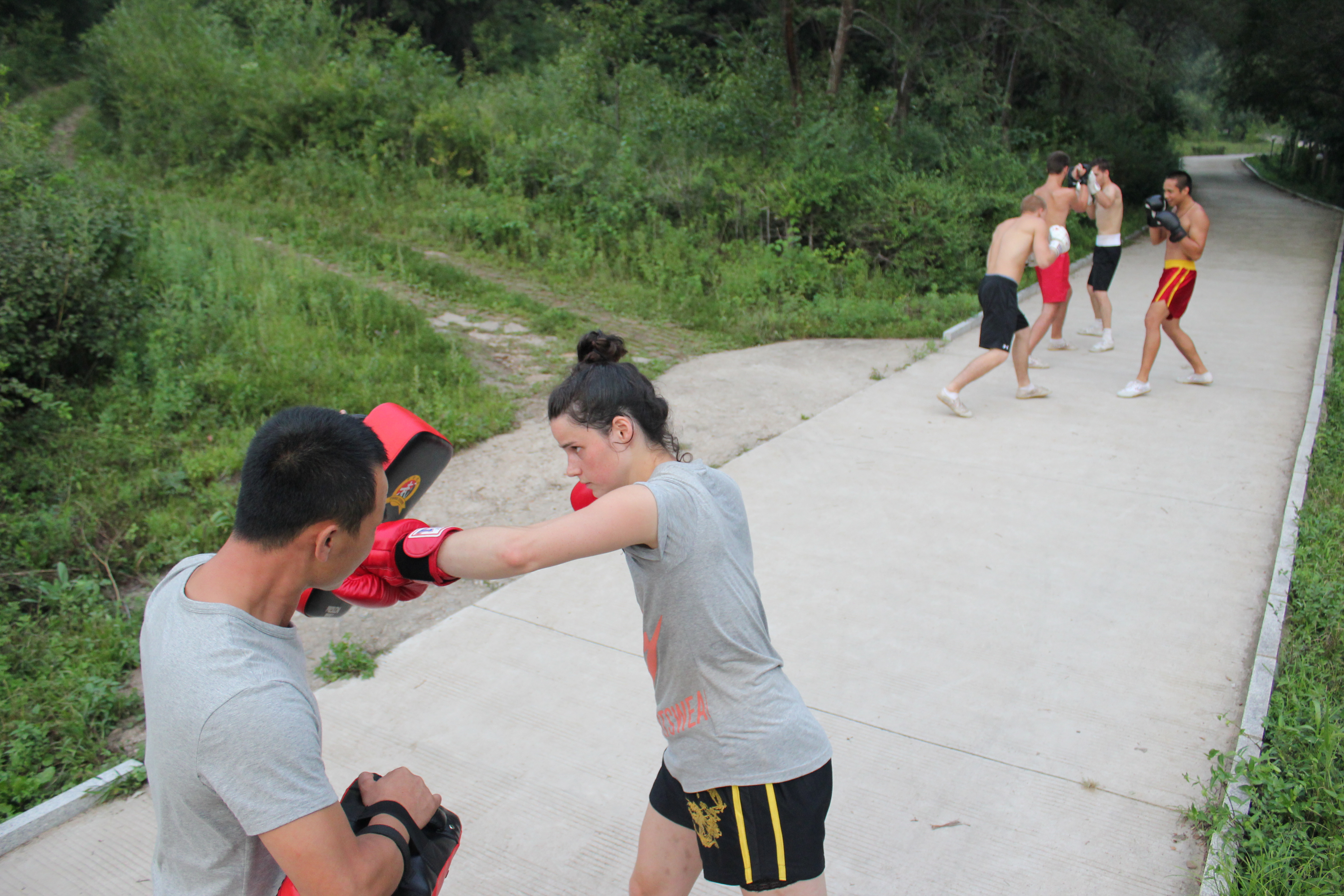 Pad Combination Training