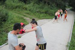 Pad Combination Training