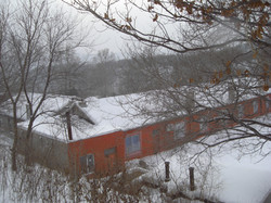 Overview of the school in winter