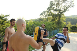 Sifu Teaching Kicks